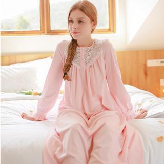 -font-b-Pink-b-font-Women-Nightdress-Cotton-Lace-Maternity-Pyjamas-font-b-Negligee-b.jpg